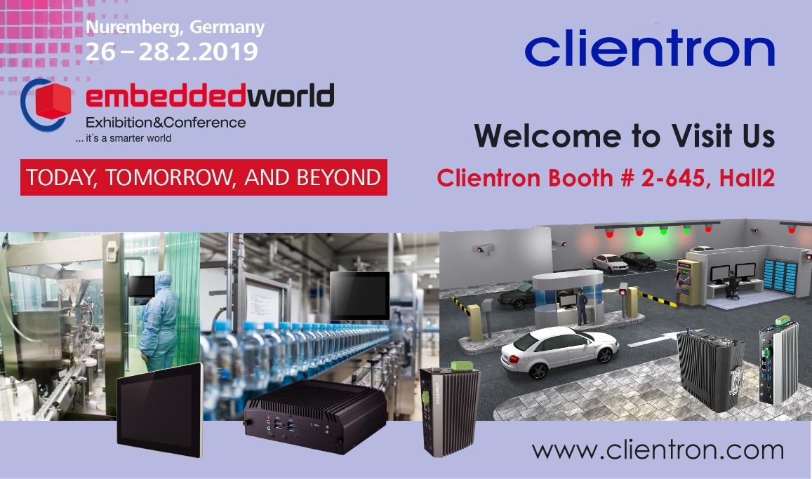 Clientron Embedded World 2019