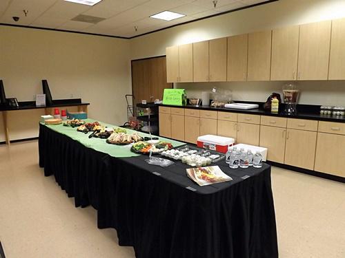 H-E-B Sponsor Buffet Table