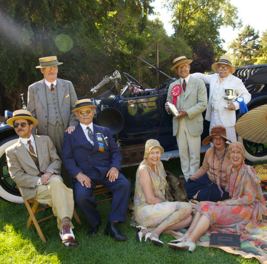 Gatsby Summer Afternoon from Fall Art & Antiques Show Cultural Partner