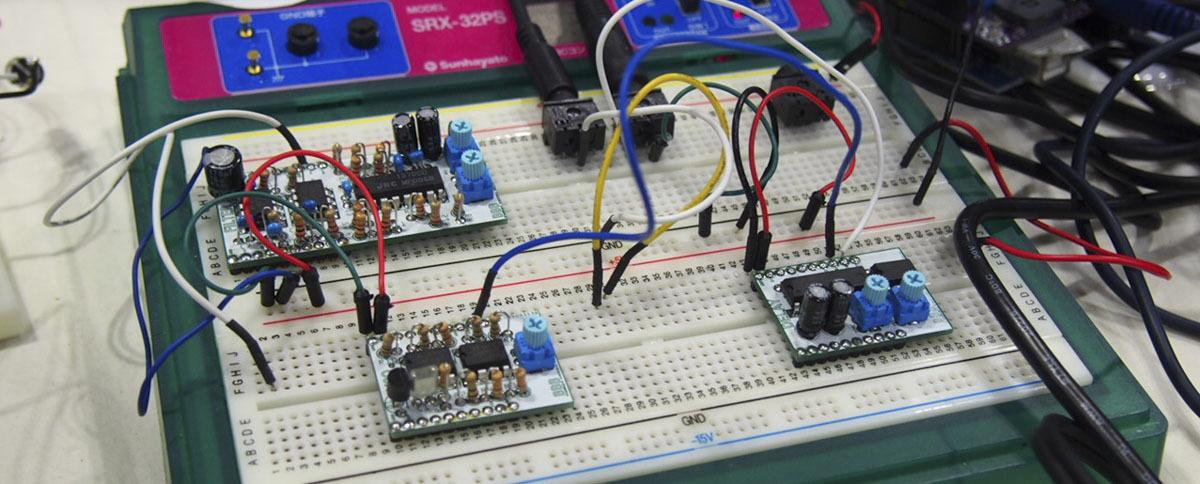 【play the music プロジェクト】「Arduino+アナログシンセサイザー」ワークショップ