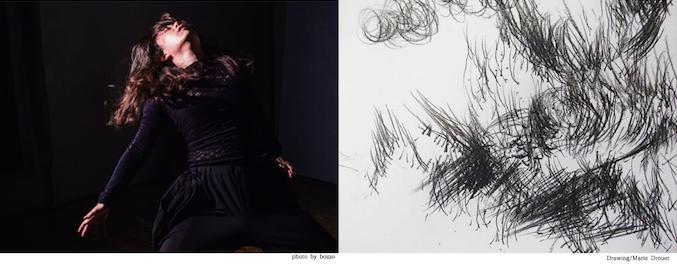 踊ること、描くこと、震えること Drawing, Dancing, Trembling