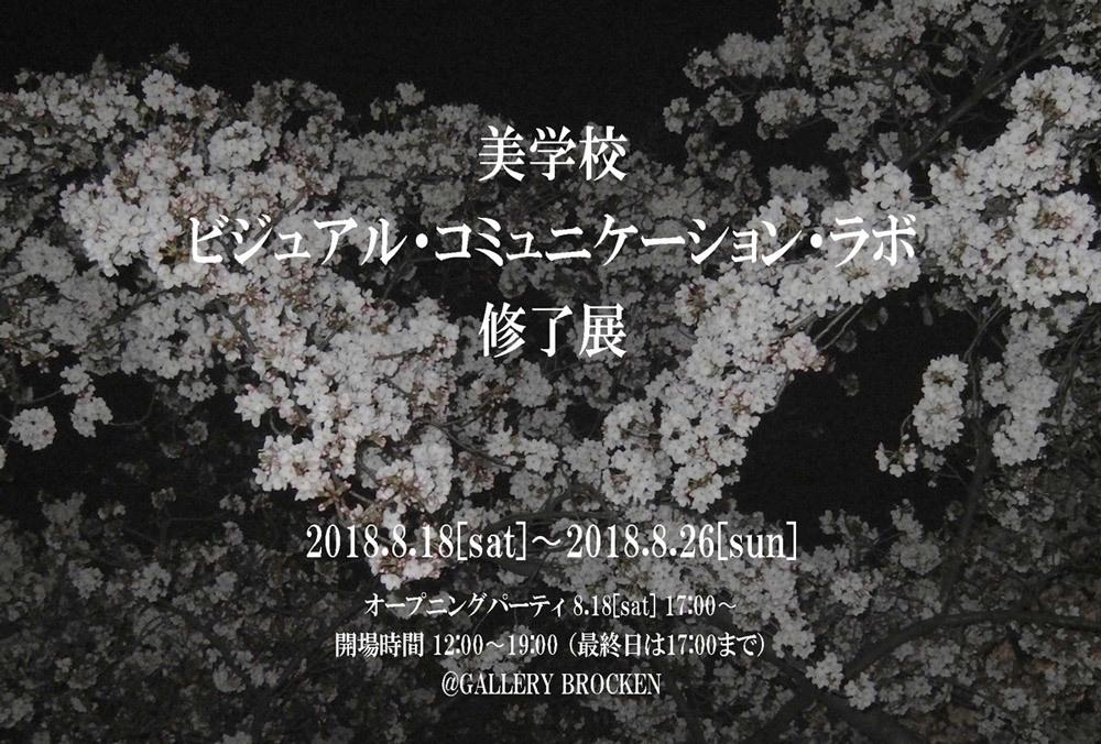 「ビジュアル・コミュニケーション・ラボ」2017年度修了展