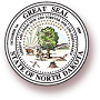 Seal of North Dakota logo