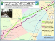 Map of southern trail development plans