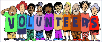 We need volunteers of all types!