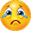 Image of a sad emoji