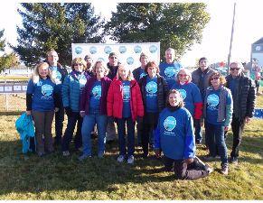 ETA Volunteers at the Maine Marathon