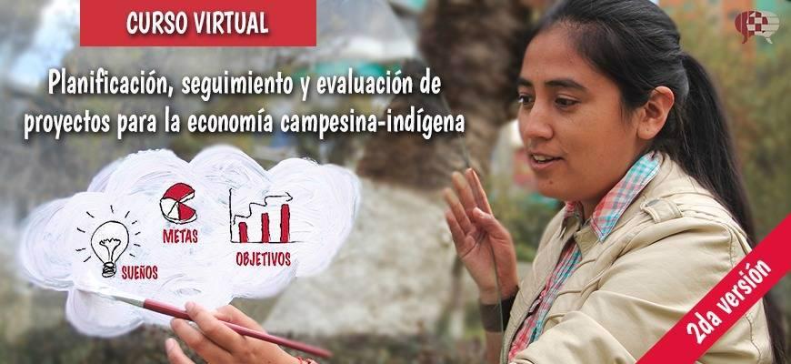 Planificación, seguimiento y evaluación de proyectos para la economía campesina-indígena. Segunda versión.