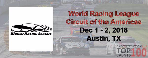 World Racing League COTA is a MotionU Top 100 U.S. Event 2018