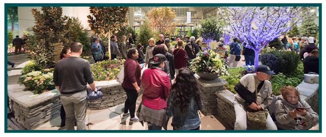Over 700 varieties of plants to enjoy!