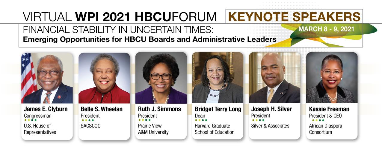 WPI 2021 HBCU Forum