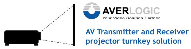AV Transmitter and Receiver Projector Turnkey Solution