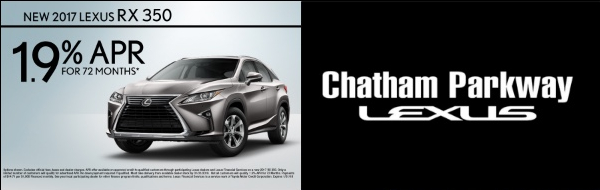 Chatham Parkway Lexus 1.9 Percent APR