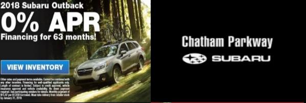 Chatham Parkway Subaru 0 Percent