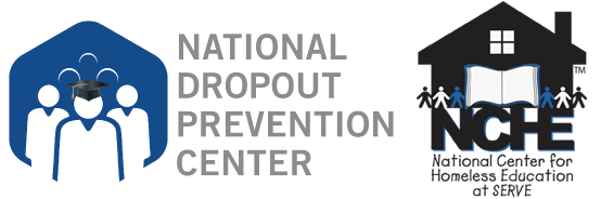 joint logo - national dropout prevention center and the national center for homeless education