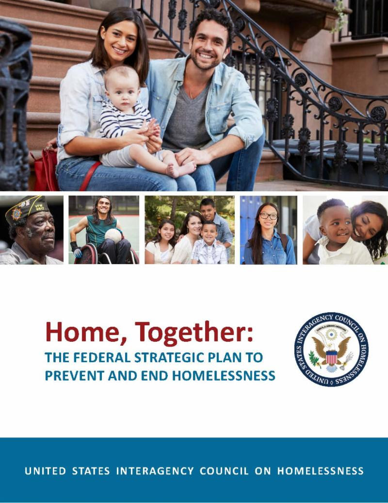 cover page of the USICH Federal Strategic Plan