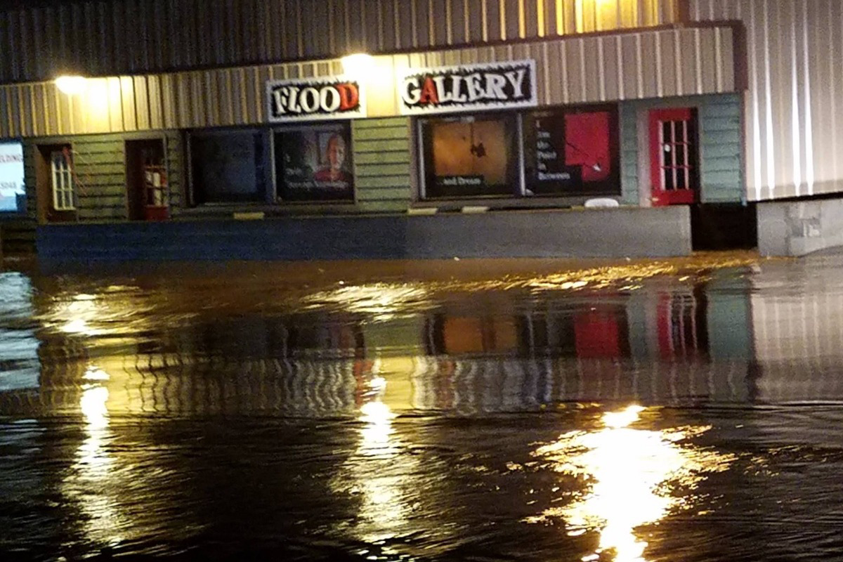 The Flood Gallery, floods!