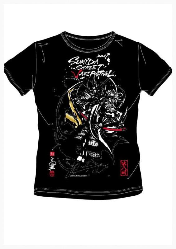 一般向け2017すみジャズTシャツ(黒)