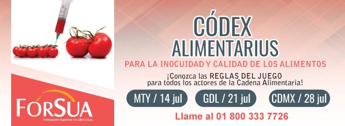 Codex Alimentarius para la Inocuidad y Calidad de los Alimentos