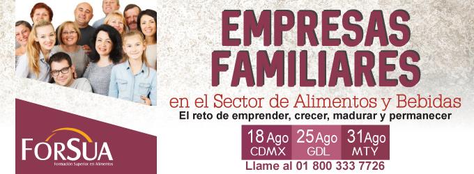 Empresas Familiares en el Sector de Alimentos y Bebidas