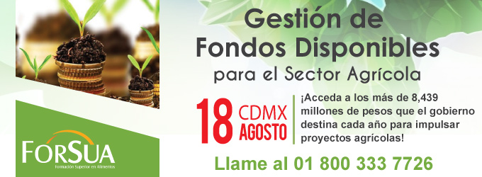 Gestion de Fondos Disponibles para el Sector Agricola 2017