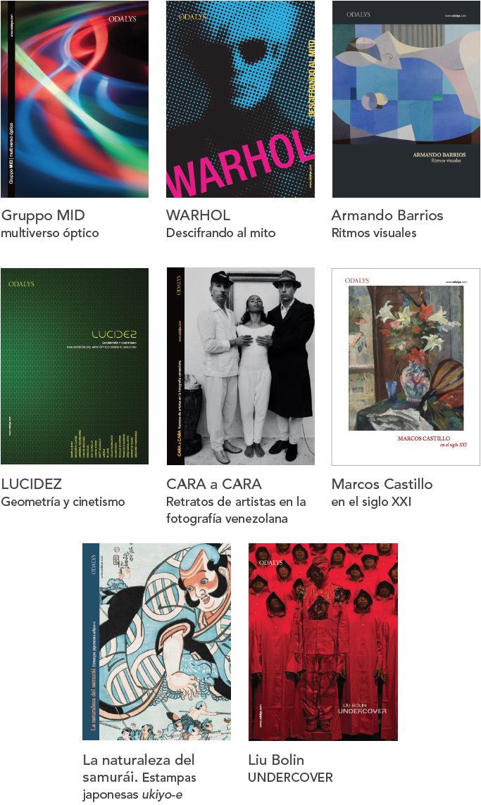 Catálogos exposiciones