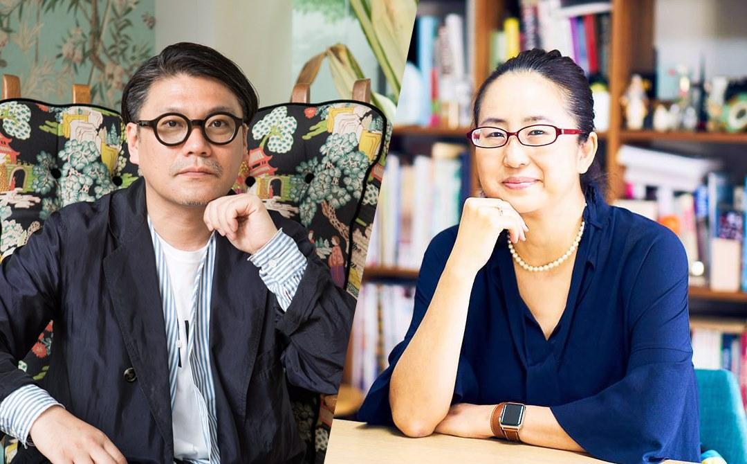 丸山敬太さん、軍地彩弓さん写真