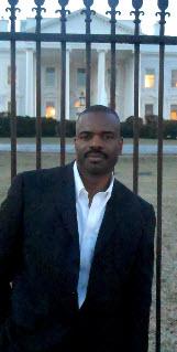 Bill J. Releford, M.D. at the White House.