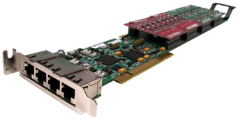 XDS HMP PCI 16-Port Modular Line Interface Board
