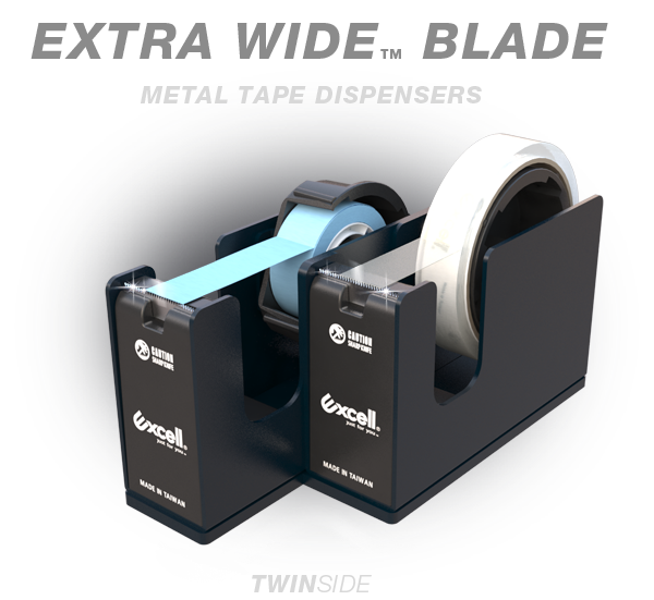 METAL TAPE DISPENSERS