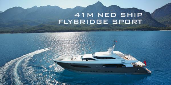 41M NED Ship Flybridge Sport