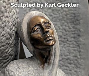 Angel Sculpture by Karl Geckler