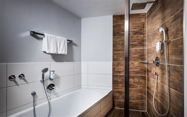Badezimmer von Zimmer 516