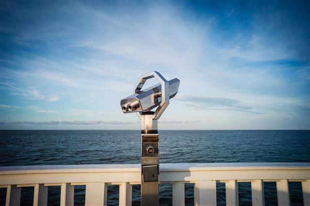 Blick in die Ferne - Cuxhaven