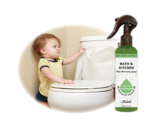 Bath & Kitchen Odor Removing Spray