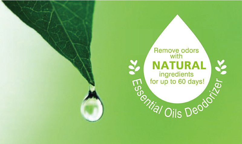 100% Natural Odor Removing Series