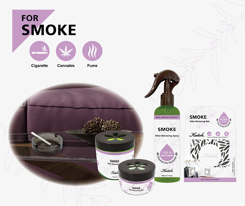 Smoke Odor Removing Series