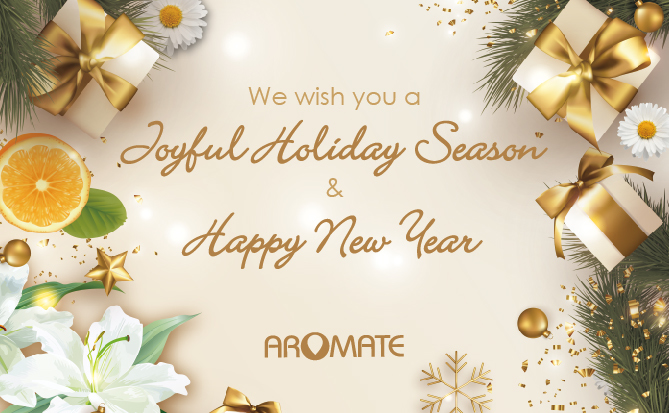 We wish you a Joyful Holiday Season & Happy New Yaer