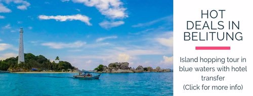 belitung island hot deal