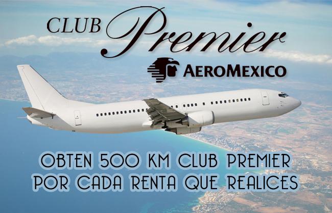 Renta con Green Motion y Obten 500 kilometros club premier aeromexico